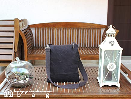 bc4b99f1458d Dark Brown Waxed Foldover Tote Bag