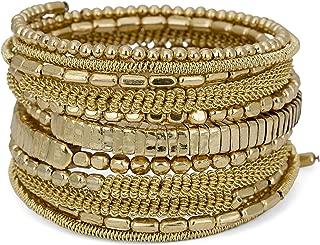 Handmade Bohemian Coil Spring Bracelet for Women Collection