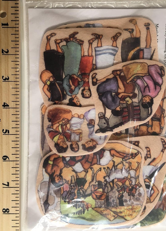 half Alma Felt Figures for Flannel Time Felts Scripture Popularity Story Boards