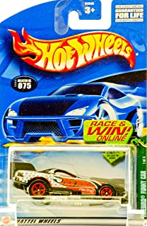 Cold Blooded Series #1 Firebird Funny Car #2002-75 Collectible Collector Car Mattel Hot Wheels