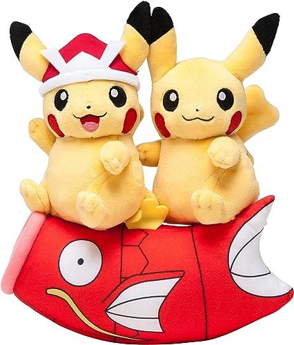 Pokémon Center Original Stuffed Monthly Pair Pikachu 2016 May
