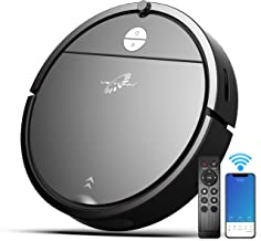 Robot Vacuum, VICTONYUS 1650PA Robotic Vacuum Cleaner with Self-Charging, 360° Smart Sensor Protectio, Multiple Cleaning M...
