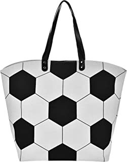X.Sem Baseball Tote Large Size Canvas Cotton Beach Totes Sports Shoulder Bag 23''