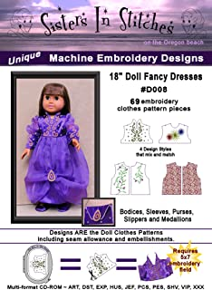 Best in the hoop doll clothes designs Reviews