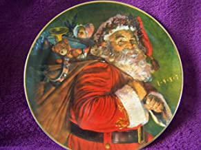 Avon 1987 Collectible Christmas Plate