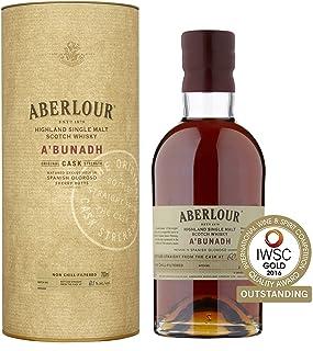 "Aberlour A""Bunadh Highland Single Malt Scotch Whisky – Original Cask Strength Non Chill Filtered Scotch Single Malt Whisky – 1 x 0,7 L"