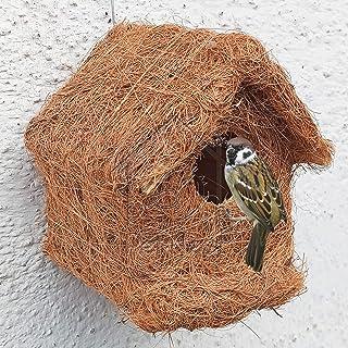 PetNest CR-3 Safest House Organic Bird Nest Purely Handmade Sparrow (Brown)