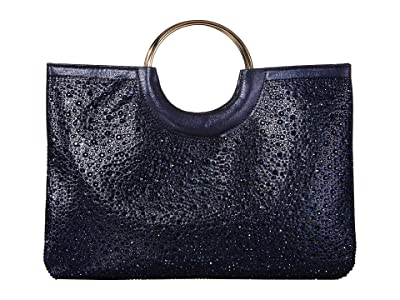 Jessica McClintock Sonia (Navy) Handbags