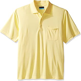 Men's Sleeve Solid Pocketed Polo Short