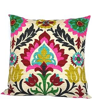 That Dutch Girl One Waverly Santa Maria Desert Flower Pillow Cover, Cushion, Decorative Throw Pillow, Decorative Pillow, Accent Pillow, 18x18 Pillow