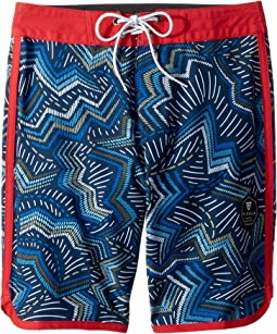 "Testa Four-Way Stretch 17"" Boardshorts (Big Kids)"
