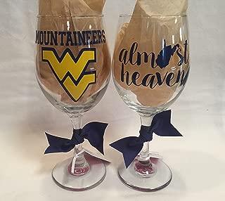 Best wvu wine glasses Reviews