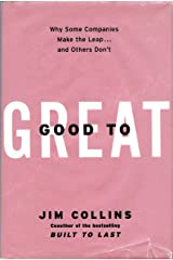 Good to Great by Collins Jim. (HarperBusiness 2001) [Hardcover] ハードカバー
