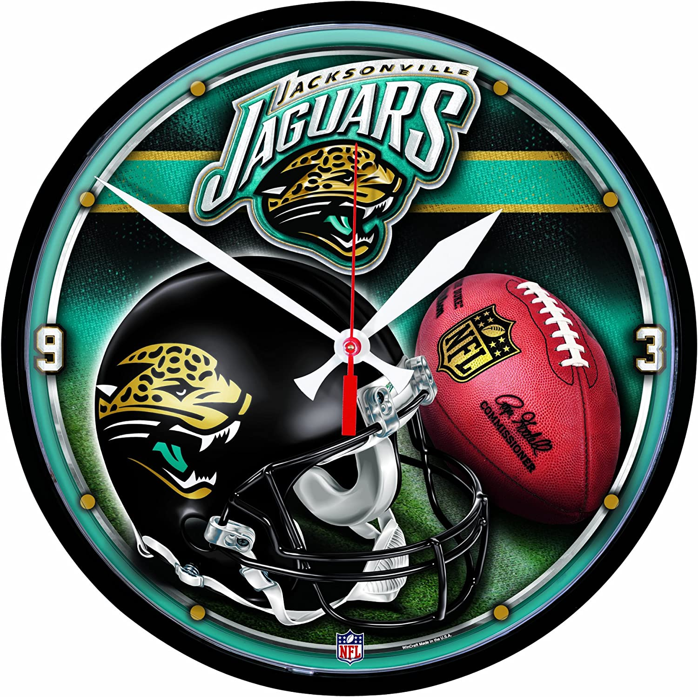 Quality inspection Jacksonville Jaguars Clock online shopping Round