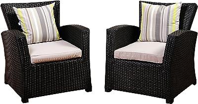 Amazon.com: RST Slate 8 pieza de sofá con Club silla al aire ...