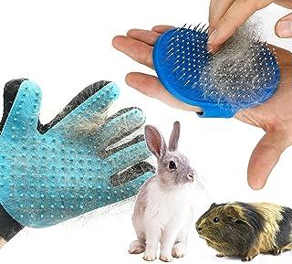 Dasksha Rabbit Grooming Kit with Rabbit Grooming Brush - Rabbit Hair Brush and Rabbit Hair Remover- Bunny & Guinea Pig