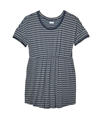 Columbia Plus Size Slack Watertm Knit Dress (Collegiate Navy Stripe) Women