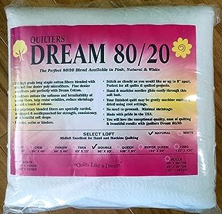 Quilter's Dream 80/20, Natural, Select Loft Batting - Double Size 96