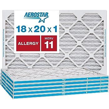 Nordic Pure 18x18x1 MERV 10 Pleated AC Furnace Air Filters 18x18x1M10-2 2 Piece