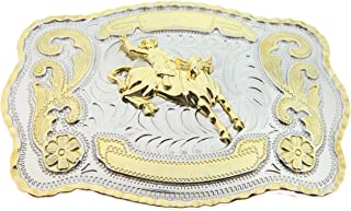 bull riding rodeo buckles