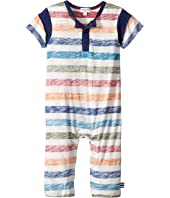Splendid Littles - Reverse Printed Stripe Coverall (Infant)