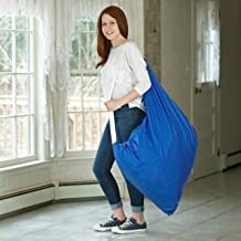 (Royal Blue) - Carry Laundry Bag From Handy Laundry with Shoulder Strap, Large Size 80cm X 100cm , Commercial Grade 100% N...