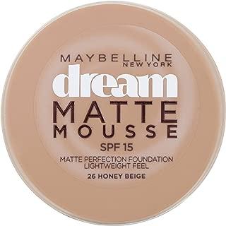 Dream Matte Mousse by Maybelline 026 Honey Beige
