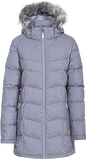 Reeva Womens Down Parka Jacket Warm Long Coat with Fur Hood