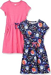 مارک آمازون-لباس های زنانه آستین کوتاه زنانه گوزن زنانه آستین کوتاه و کمر