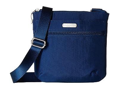 Baggallini Legacy RFID Small Zip Crossbody (Pacific) Cross Body Handbags