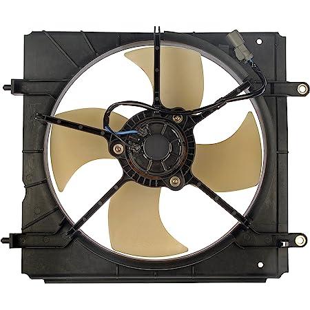 Dorman 620-250 Radiator Fan Assembly , Black