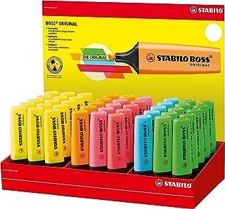 Coloris Assortis Stabilo H/Lters P48 Yel/Blu/Grn/Pink/Ora Écriture Surligneurs