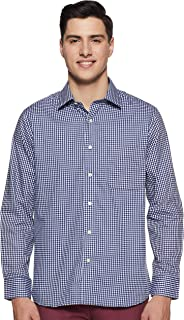 Arrow Men's Solid Regular Fit Formal Shirt