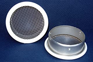 2 Round Open Screen Vent Pkg of 6 Mill
