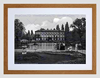 KEW Gardens The Museum London and Suburbs England Old BW Framed Print B12X203