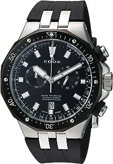 EDOX - Reloj Analógico para Hombres de Cuarzo con Correa en Caucho 10109 357NCA NIN