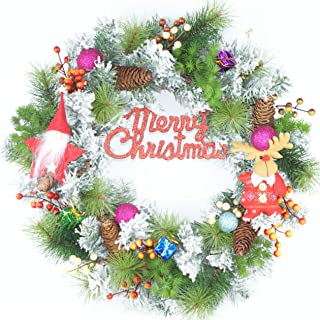 christmas garland cartoon