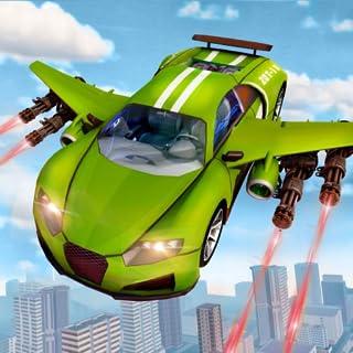 US Army Flying Car Transform Robot Game