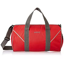 Amazon Brand – Solimo Polyester Duffel Gym Bag with Shoe Compartment