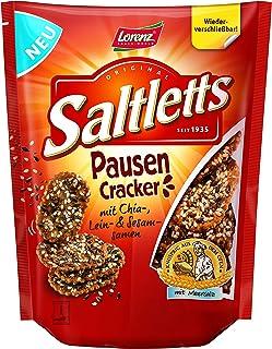 Lorenz Snack World Saltletts Pausen Cracker, 16er Pack 16 x 100 g