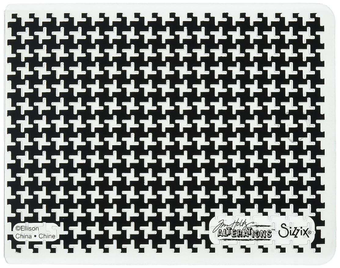 Sizzix 661202 Texture Fades Embossing Folder Pinwheel by Tim Holtz