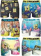 FREEGUN Set Boxers Briefs Spongebob Squarepants Man OR Boy - Sublimation Printing