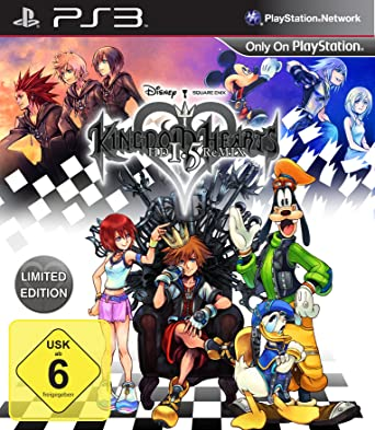 Kingdom Hearts Hd 1 5 Remix Limited Edition Playstation 3 Amazon De Games