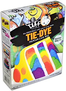 Duff Decorating Mix Cake Tie Dye