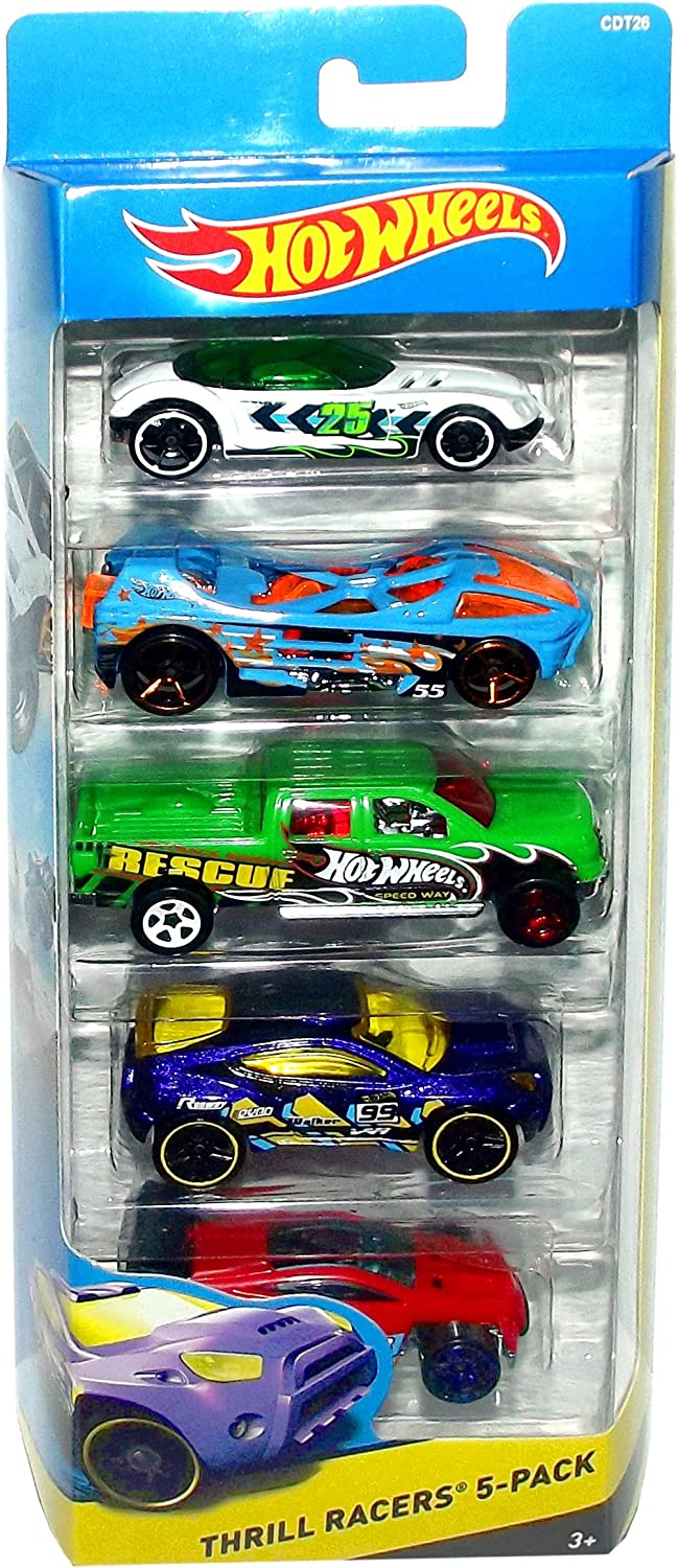 Hot Wheels OffRoad Thrill Racers 5Pack CDT26