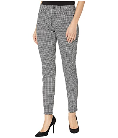 Liverpool Madonna Leggings in Houndstooth Knit (Whisper Whiet/Black) Women