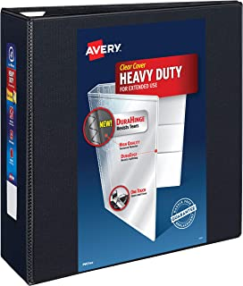 Avery Heavy Duty View 3 Ring Binder, 4