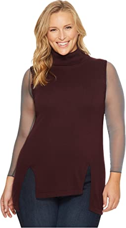 Spanx - Plus Size Sheer Long Sleeve Bodysuit