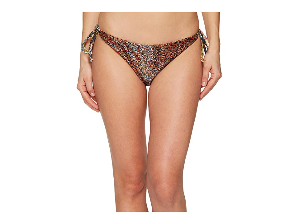 Agua De Coco by Liana Thomaz Beaded Bikini Bottom (Milho) Women