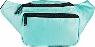SoJourner Bum Bag Fanny Pack Solid Teal | for women, men and kids | cute fits small medium large